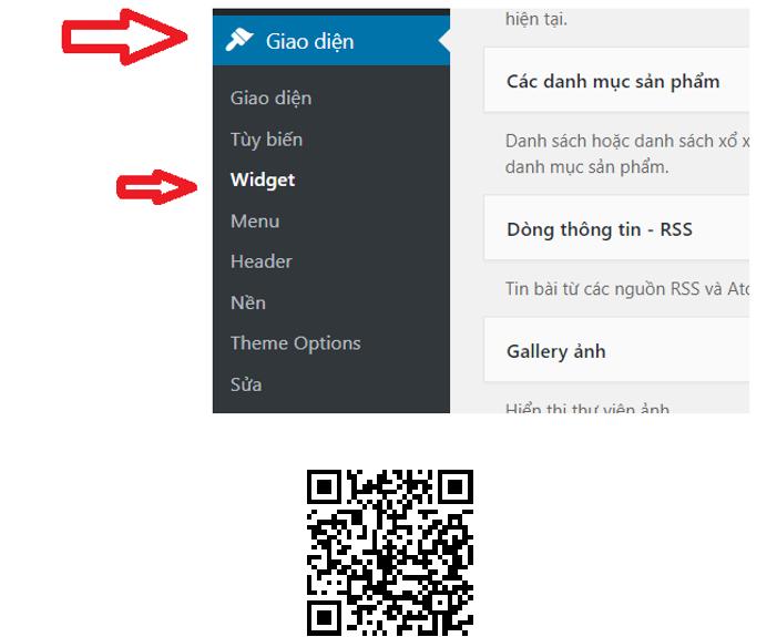 Hình 2.31: Đưa mã Google Adsense hiển thị trong web blog